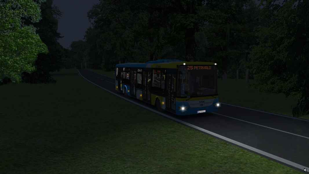 OMSI 2 SOR NB 12 City 5704 vecer