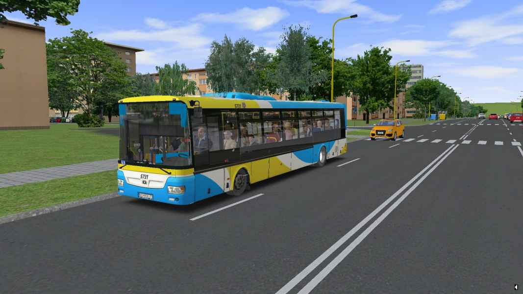 OMSI 2 SOR NB 12 City Euro 5 EEV 5731
