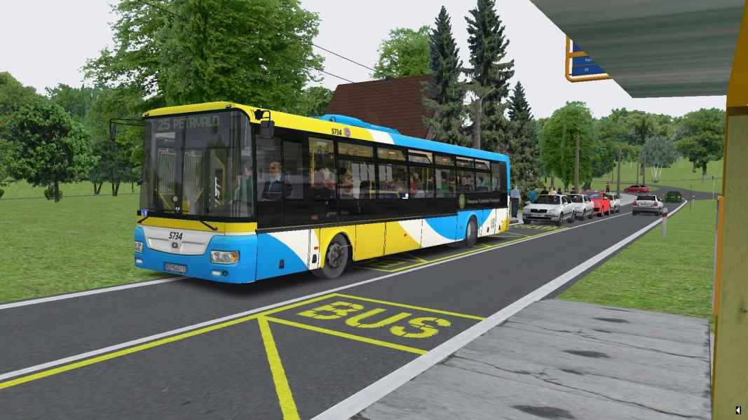 OMSI 2 SOR NB 12 City Euro 5EEV 5734