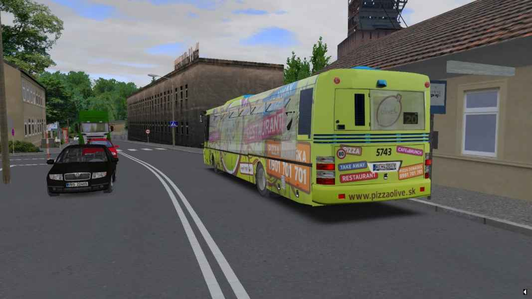 OMSI 2 SOR NB 12 City s CVR Pizza Olive