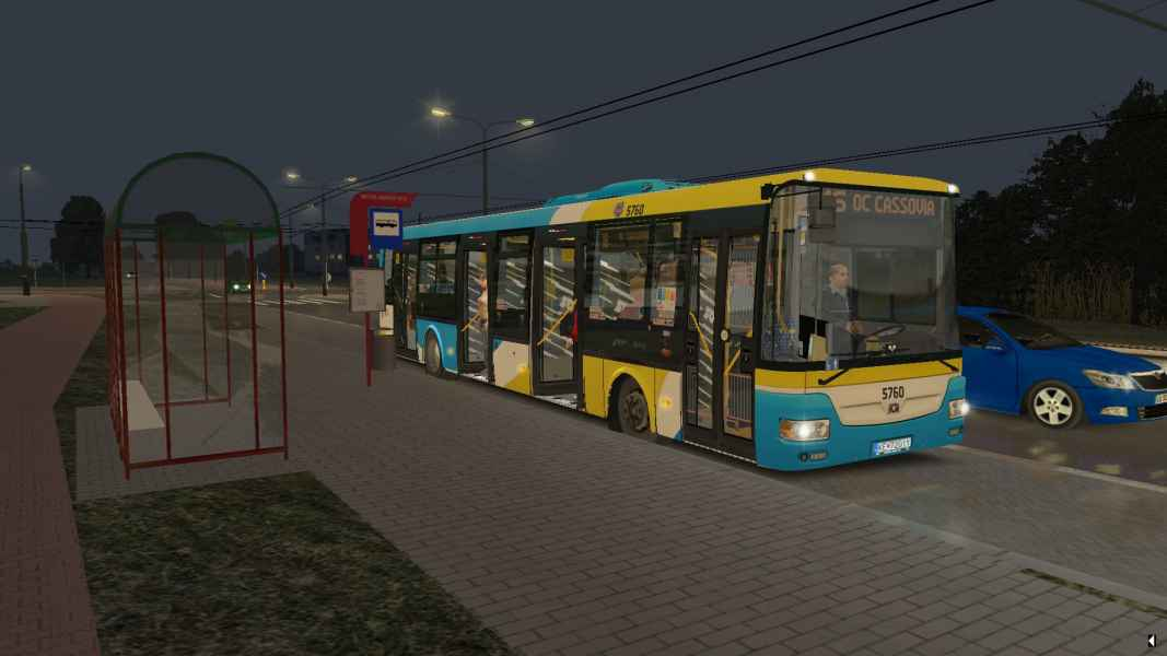 OMSI 2 SOR NB 12 City Euro 5EEV 5760