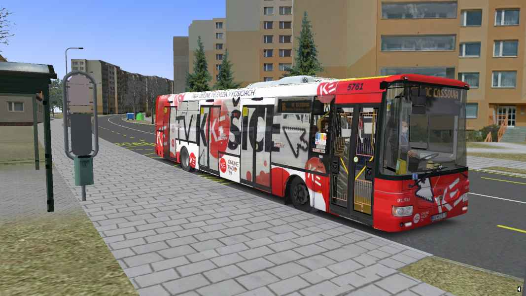 OMSI 2 SOR NB 12 City Euro 5EEV 5761 s CVR TV Kosice