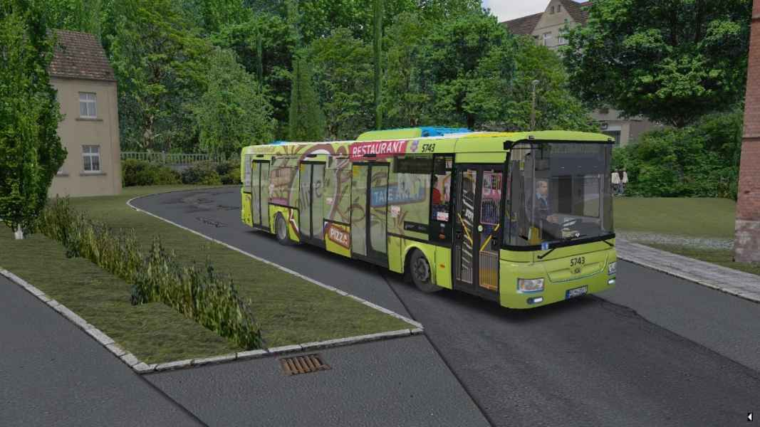 OMSI 2 SOR NB 12 City CVR Pizza Olive
