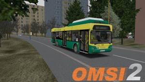 OMSI 2 Tedom C12G DP Košice #5618