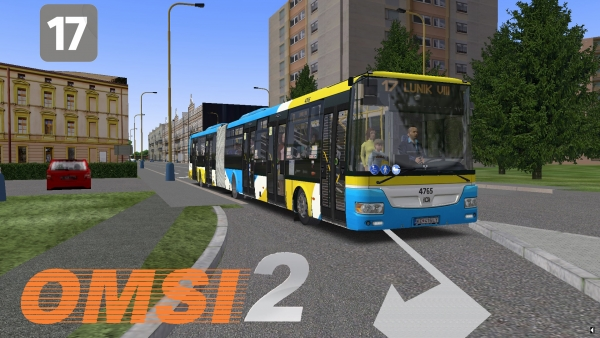 OMSI 2 SOR NB18 City Euro 6 DP Kosice #4765