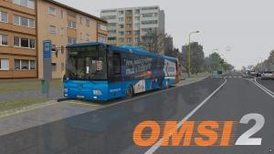 OMSI 2 SOR NB 12 City DP Košice #5743 s CVR Datacomp